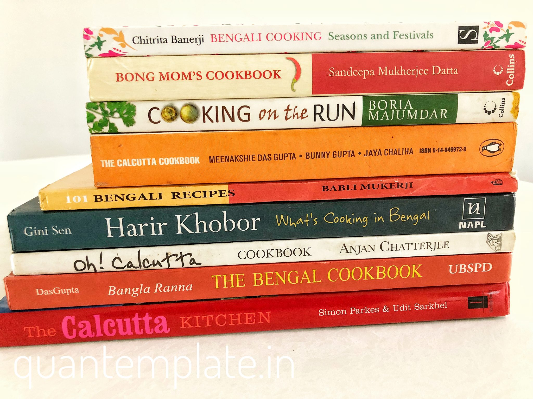 My Bengali cookbook collection - quantemplate in